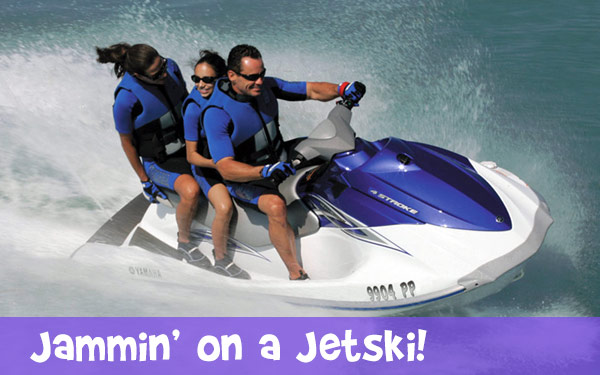 Jammin on a Jetski